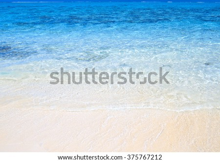 ocean beach - stock photo