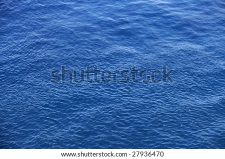 Ocean Blue Background - stock photo