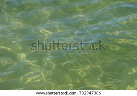 Ocean clear water surface texture.
