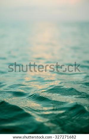 ocean ripple - stock photo