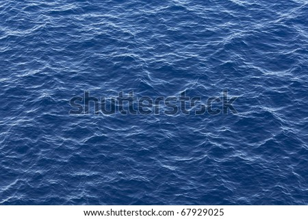 Ocean water texture - stock photo
