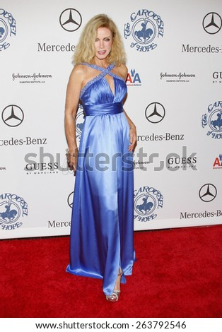 October 25, 2008. Alana Stewart at the 30th Anniversary Carousel Of Hope Ball held at the Beverly Hilton Hotel, Beverly Hills.  - stock photo