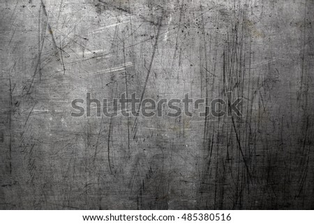 Od scratched steel background