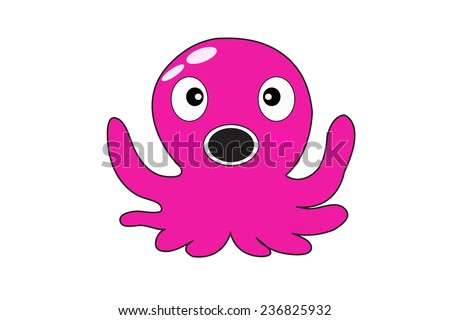 of squid cartoon