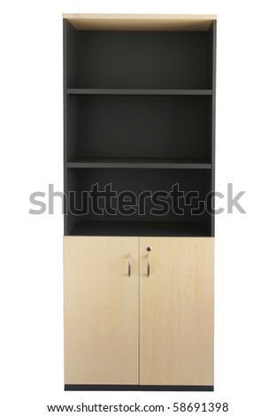 Office bookcase - stock photo