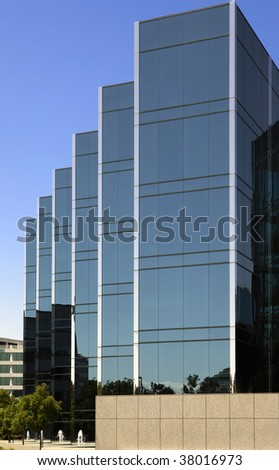 Office Building in The Silicon Valley - stock photo