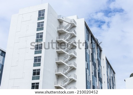 office buildings. - stock photo