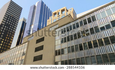 Office Buildings or Cityscape