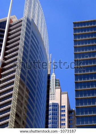 Office Buildings, Sydney, Australia - stock photo