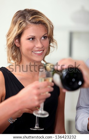 Office business party - stock photo