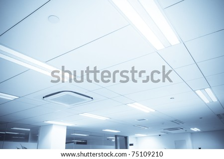 office Ceiling - stock photo