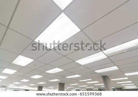 Office Ceiling Light.