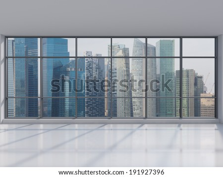 Office city view. - stock photo