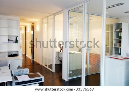 office corridor door glass. Office Corridor Door Glass Partitions Room Business A