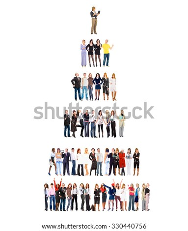 Office Culture Corporate Teamwork  - stock photo