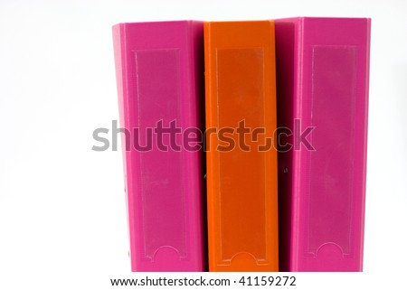office folders 2 - stock photo