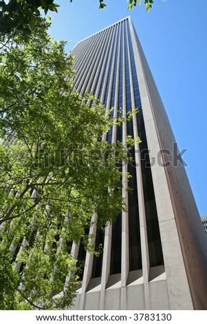 Office High-rise Building - stock photo