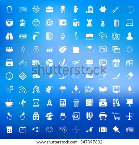 Office icons set.