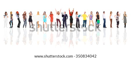 Office Idea People Diversity  - stock photo