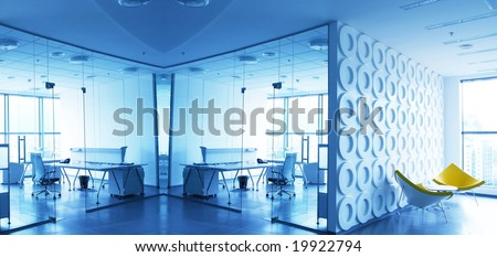 Office interior - stock photo