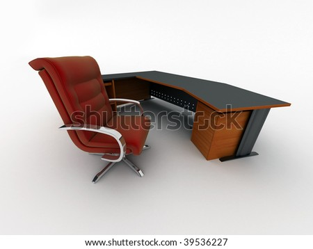 office interior - stock photo