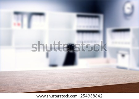 office interior and desk space for you  - stock photo