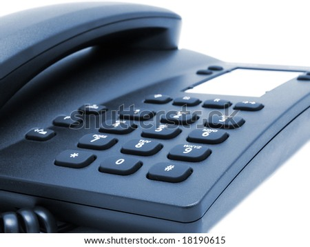 office telephone button digits background