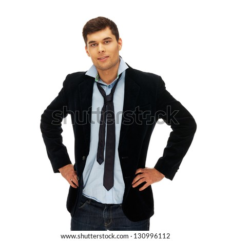 Office worker in casual clothes at Friday - stock photo