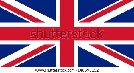 Official flag of UK nation - stock photo