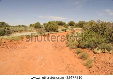 Offroading in Sedona Arizona - stock photo