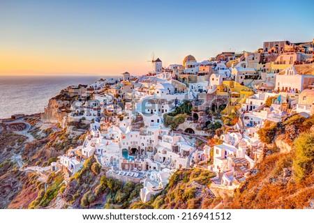 Oia - Santorini - stock photo