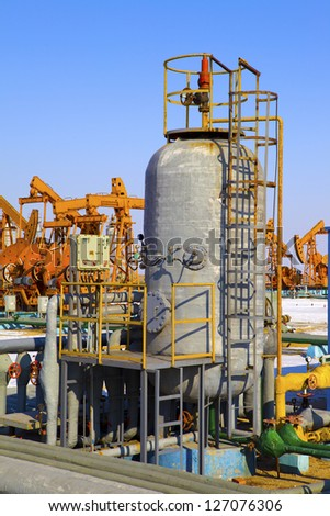 oil and gas processing plant