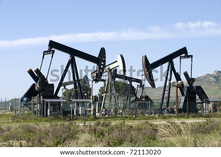 Oil extraction in Sicily, Italy - stock photo