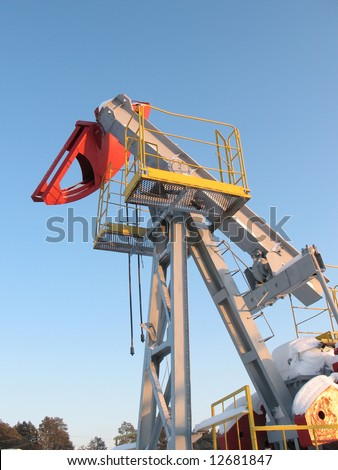Oil extraction. Oil industry. Construction and mechanism in work