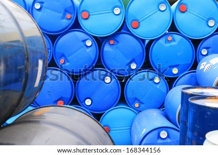 oil gallon - stock photo