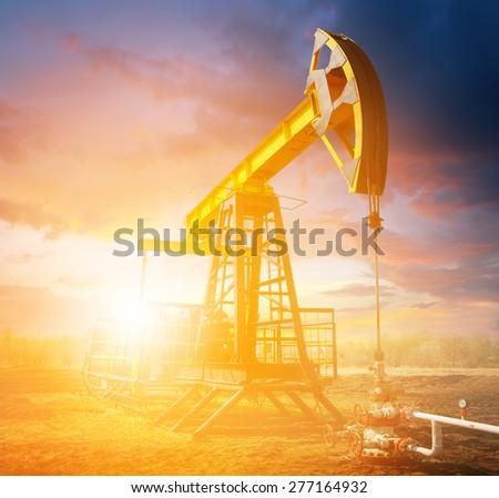 Oil industry - stock photo