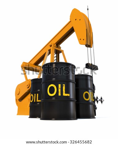 Oil Industry Concept - stock photo