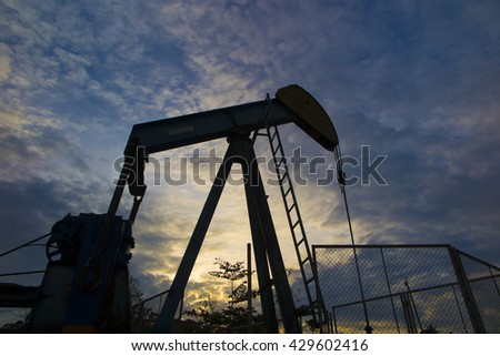 Oil Mining - stock photo