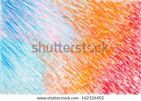 oil pastel  painted background - stock photo