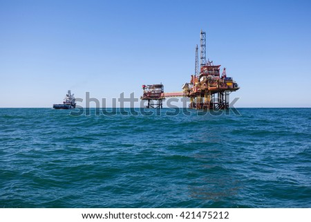 Oil platform in United State of America