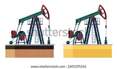 oil pump - stock photo