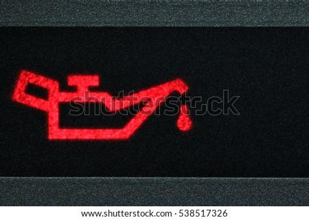 Oil Pressure Stock Images RoyaltyFree Images Vectors - Car image sign of dashboarddashboard warning lights stock images royaltyfree images
