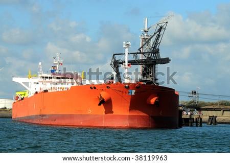 Oiltanker - stock photo