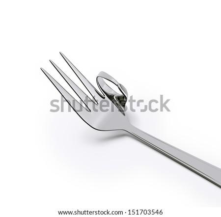 OK fork - stock photo