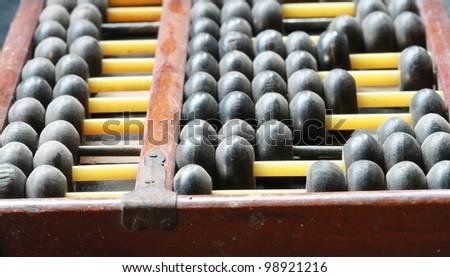 old abacus , China style - stock photo