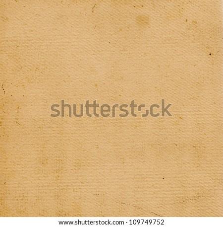Old abrasive retro paper - stock photo