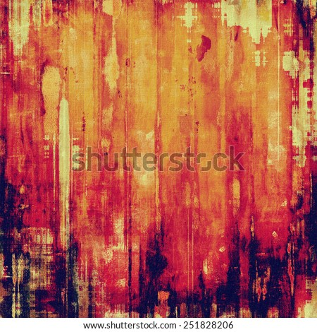 Old abstract grunge background, aged retro texture. With different color patterns: yellow (beige); red (orange); purple (violet); pink - stock photo