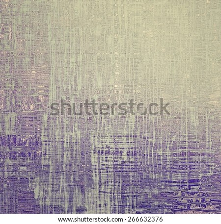 Old abstract grunge background for creative designed textures. With different color patterns: yellow (beige); gray; purple (violet) - stock photo