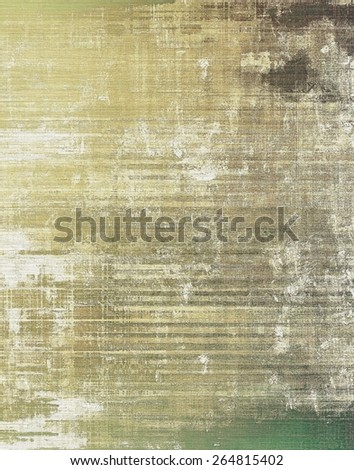 Old abstract grunge background for creative designed textures. With different color patterns: brown; gray; green - stock photo