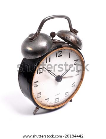 old alarm-clock - stock photo